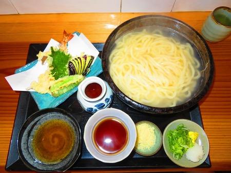 六三うどん 釜揚げと天ぷら